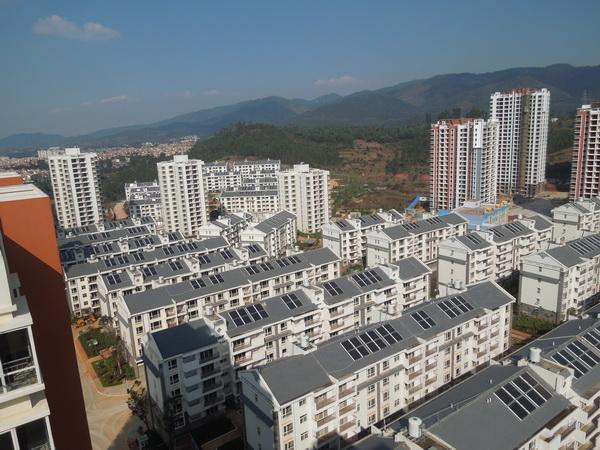 安宁太平新城始甸安置小区B区建设项目建筑面积200000㎡