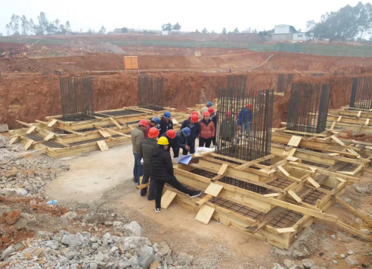云南工艺美术职业学院建设工程(二期)动态展示