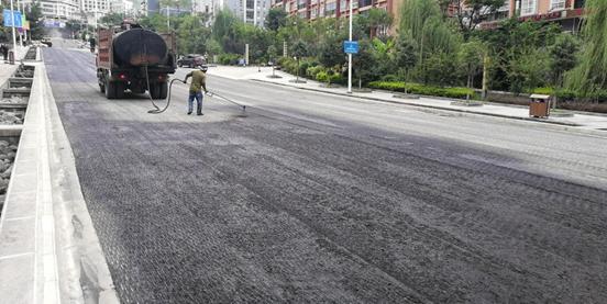泸水市赖茂新区市政道路景观提升改造建设项目施工情况