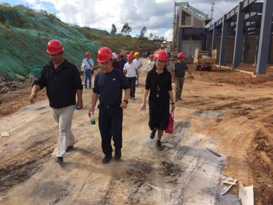 云南省教育厅组织有关高校基建部门工作人员到我公司监理的云南工艺美术学校新校区建设项目学习交流