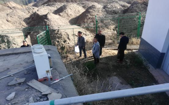 万博mantex官网农村饮水安全巩固提升工程 (上凤凰村、小新桥村)顺利通过验收