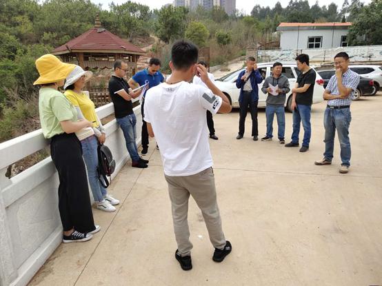 万博mantex官网太平蜈蚣桥坝塘除险加固及补水工程 已通过单位工程验收
