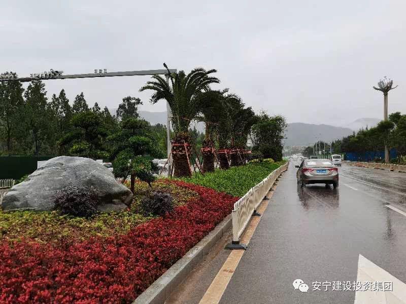 太平新城太安路U型断面改造一期工程 试验段顺利完工